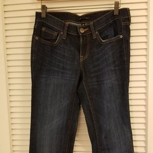 Denim - Women's Gap 1969 Jeans Size 2/26R Dark Blue